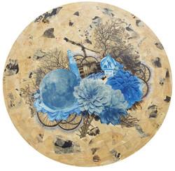 Dream of the Chrysanthemums夢菊_Moonlight on the blossom series月照花林系列