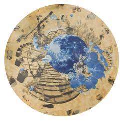 Stone of LanTai蘭台石階_Moonlight on the blossom series月照花林系列