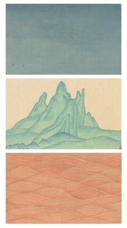山重水復 ╴西藏Mountains and Rivers - Tibet