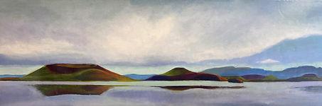 Nora Charney Rosenbaum_Lake Myvatn_oil o
