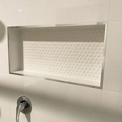 Shower Niches are so under-appreciated!