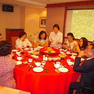 ASH CNY Lo Hei Dinner 2012