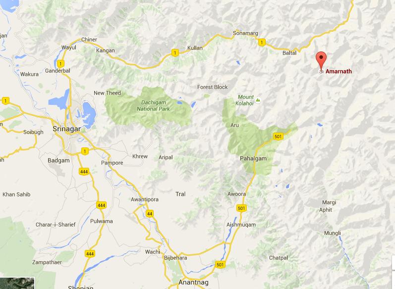 Srinagar is the main city in Jammu Kashmir