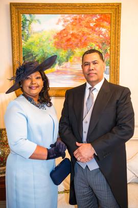 His Excellency Ellison Greenslade & Mrs