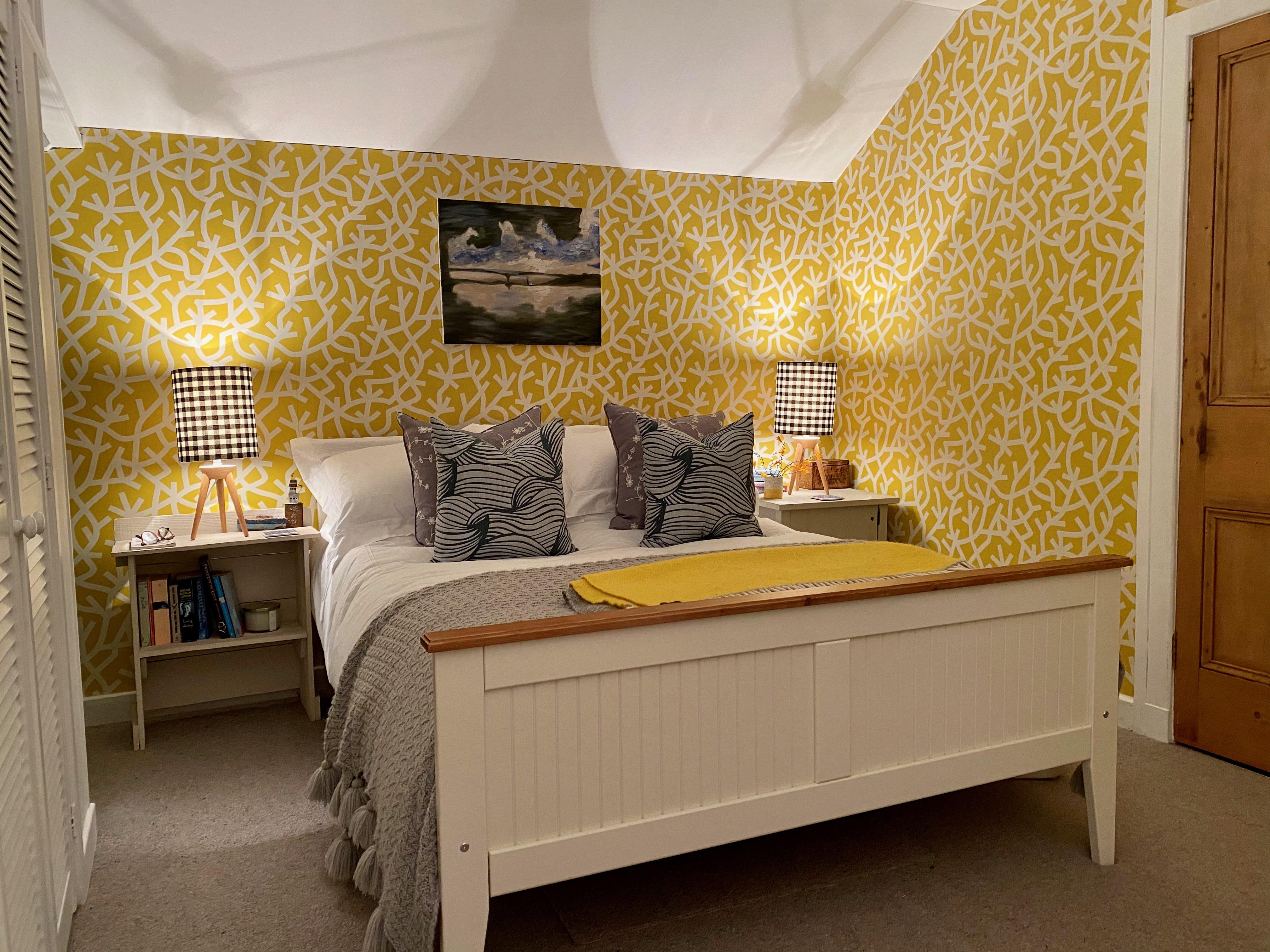 The Yellow Seaweed Bedroom