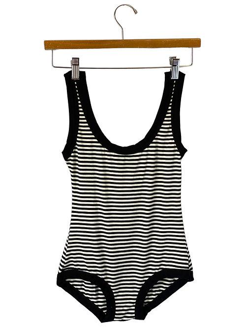 Black & White Stripes Bodysuit