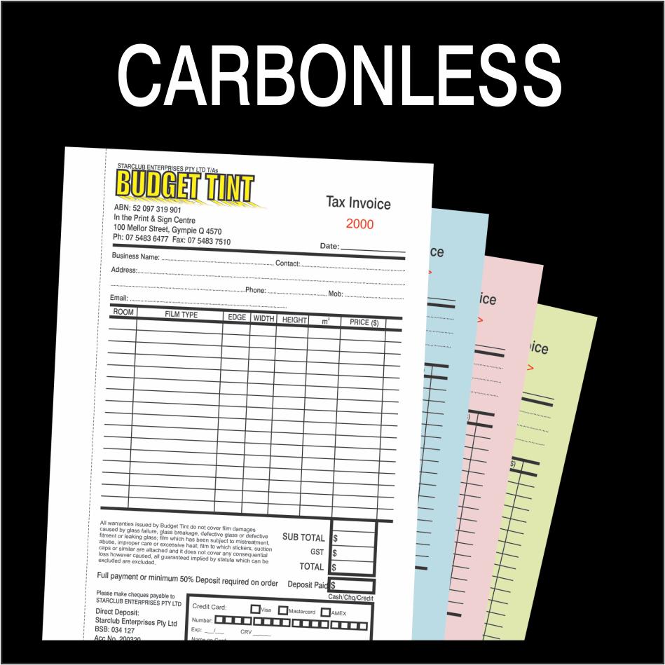 Carbonless