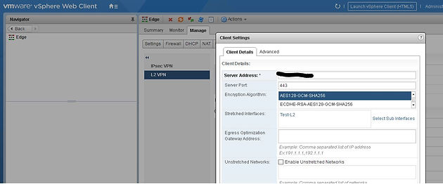 Configure an Extended Network and Layer 2 VPN