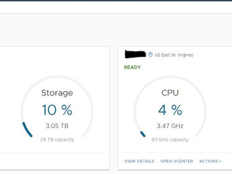 VMware Cloud on AWS vCenter (an overview)