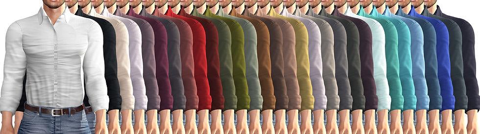TORI TORRICELLI Lex Shirt Solid Colors