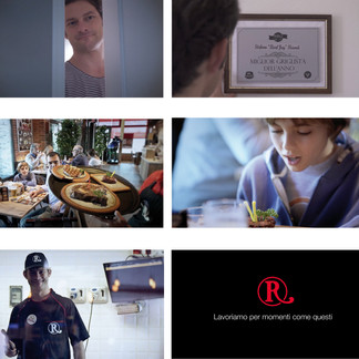 ROADHOUSE GRILL. Spot video