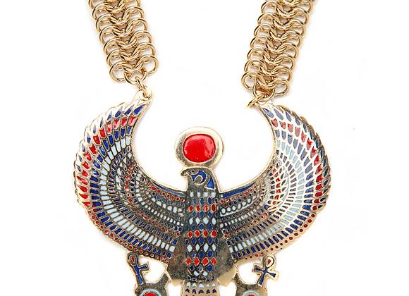 Horus Necklace on Fishbone
