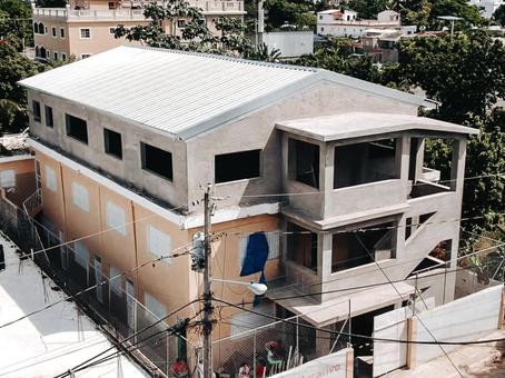elementary school 3rd floor construction