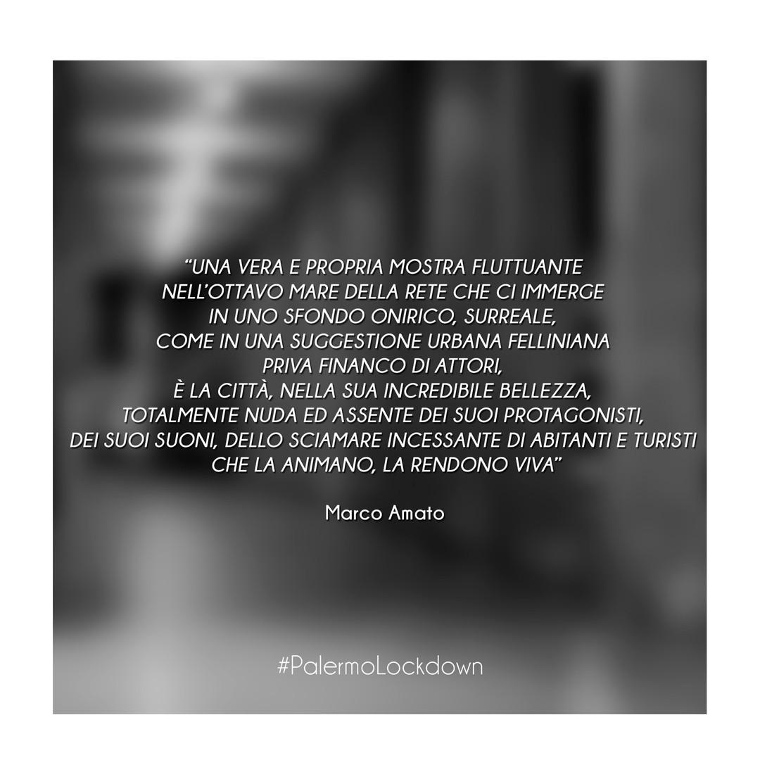 #PalermoLockdown by Marco Amato