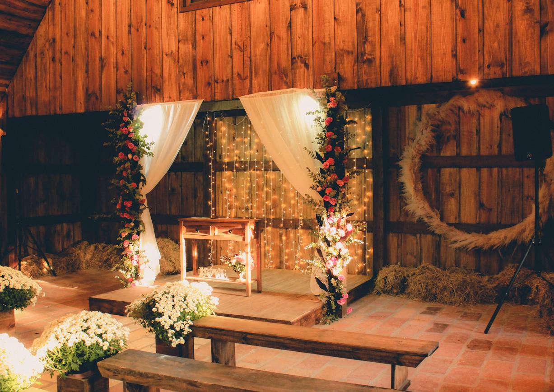 Rustic Ceremonial Space