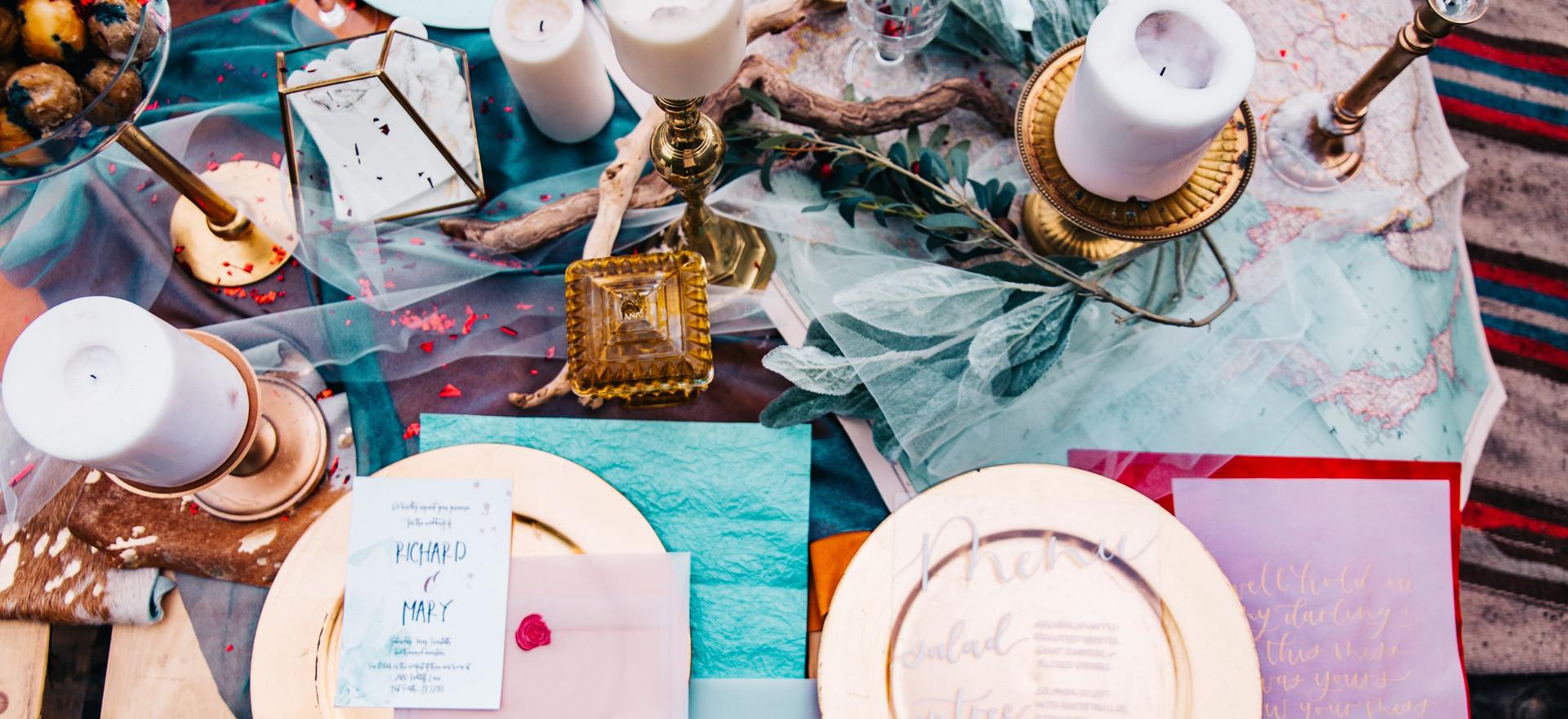 Elemental Ceremony Table