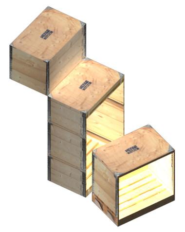 La luce nel cubo