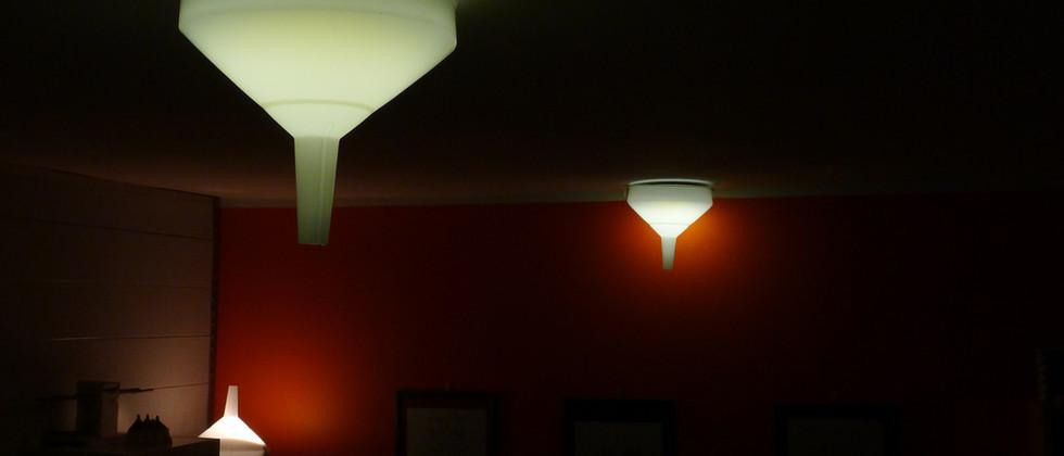 Funnel Lamp