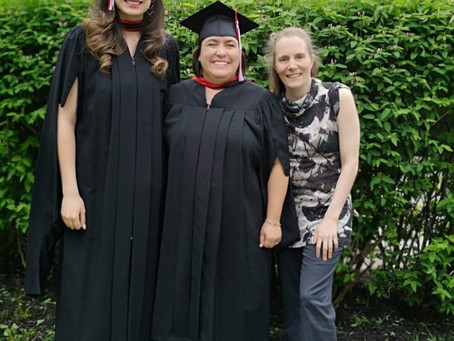 Graduation 2019 - Christina, Mariève & John!