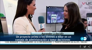 Informativo Telecinco talking about us