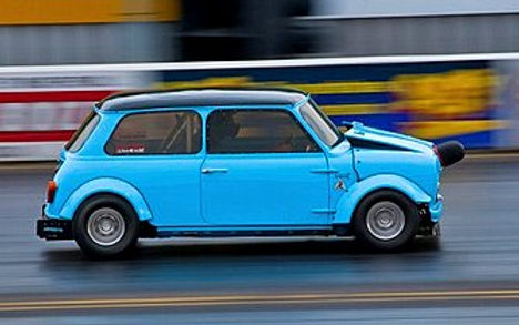 Wiginton Sprint, MiniSprint, Race car, customers car, chopped and channelled, modified mini,
