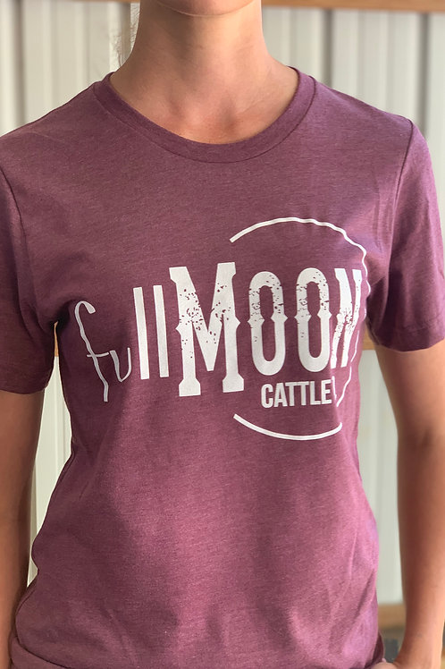 Maroon Full Moon Cattle