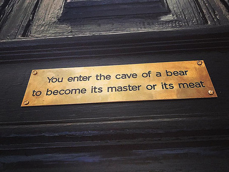 Will You Enter the Bear's Cave?