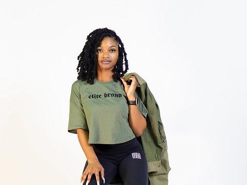 Crop Elite Brand T-shirt
