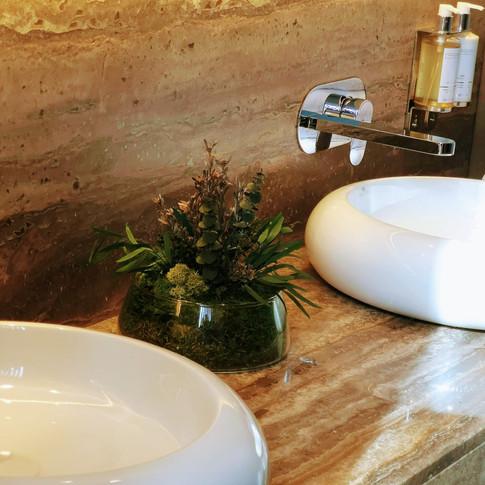 Centros preservados para baños del Hotel de Gran Lujo Royal Hideaway Corales Resort
