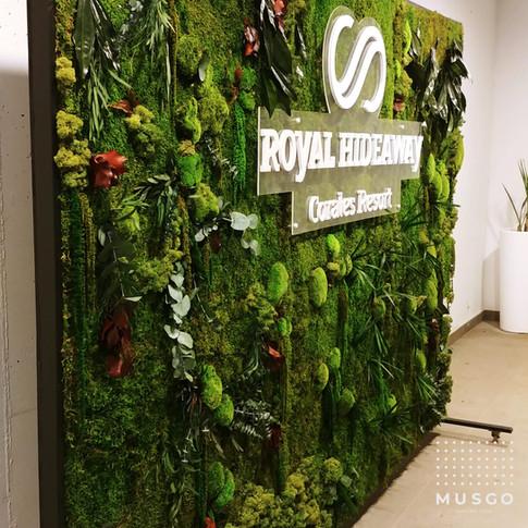 Photocall Jardín Vertical Royal Hideaway Corales Resort