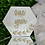 Thumbnail: Wooden Monthly Baby Milestone Hexagon Plaques