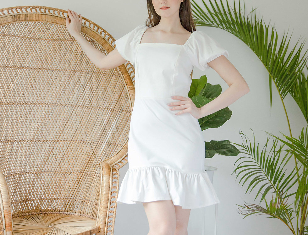 Bridget Dress- White
