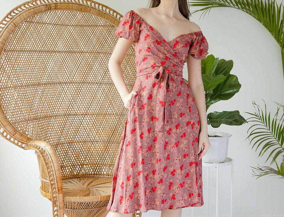 Charlie Dress- Rose