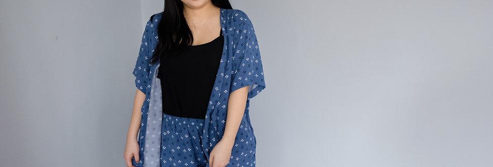 Kylie Kimono: Azure
