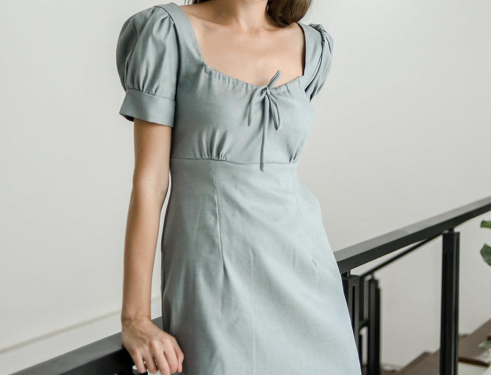 Lana Dress- Slate Blue