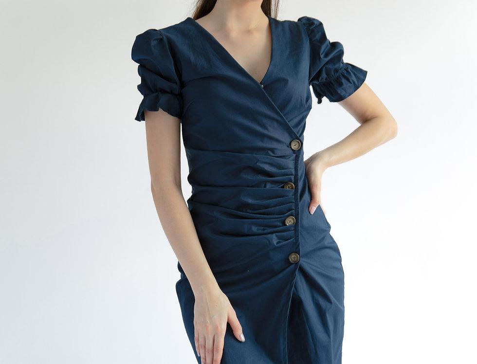 Scarlet Dress- Navy Blue