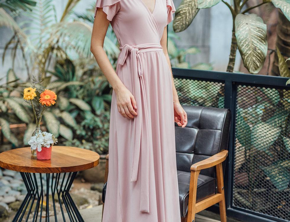 Ellie Dress- Blush