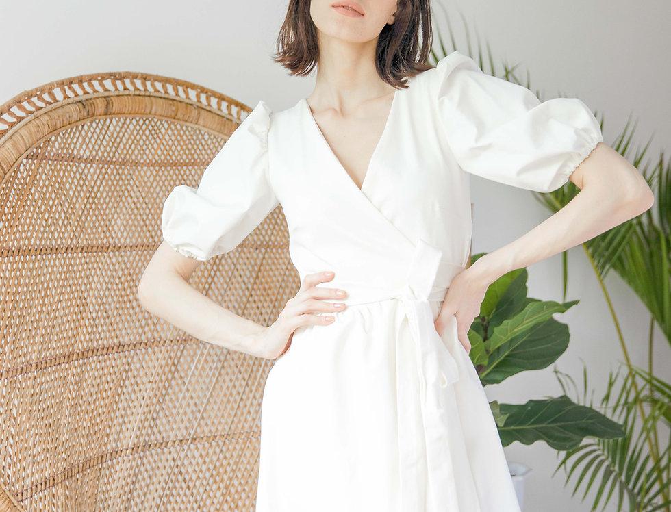 Amelia Dress- White