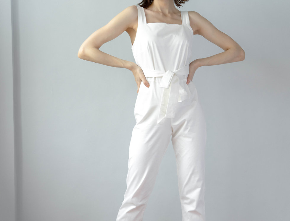 Inka Jumpsuit- White