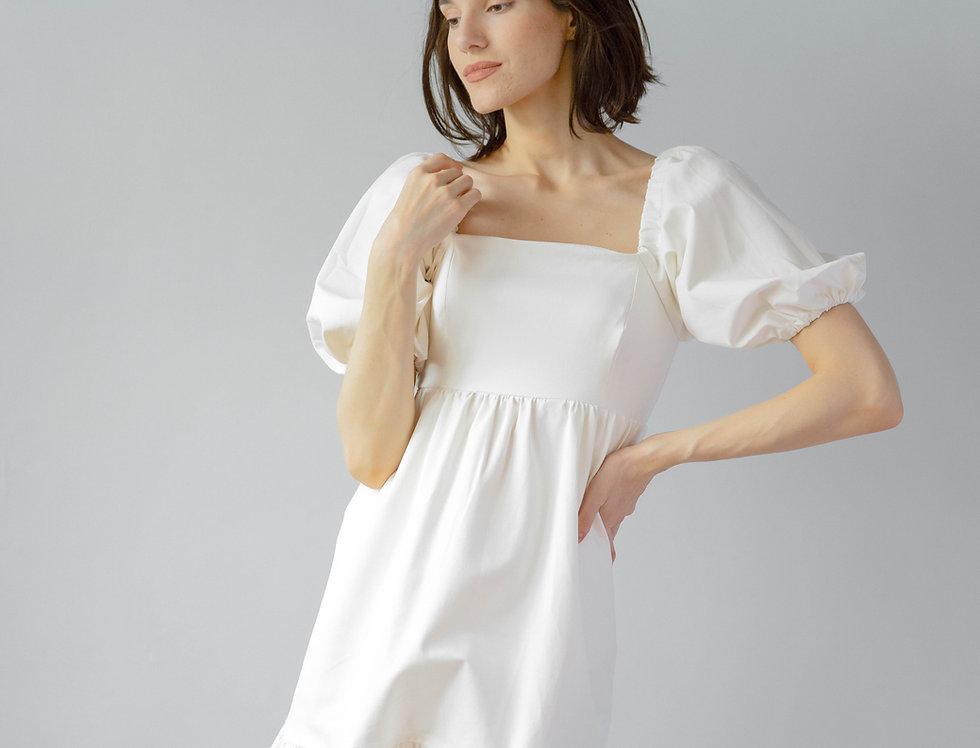 Dolly Dress- White