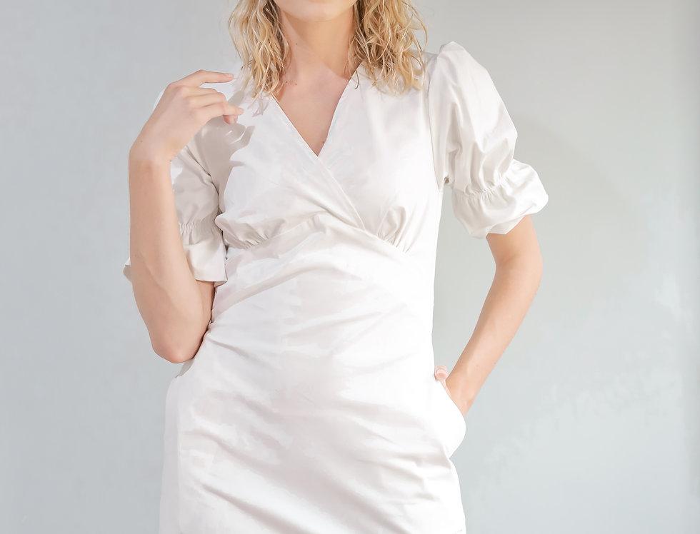 Piper Dress- White