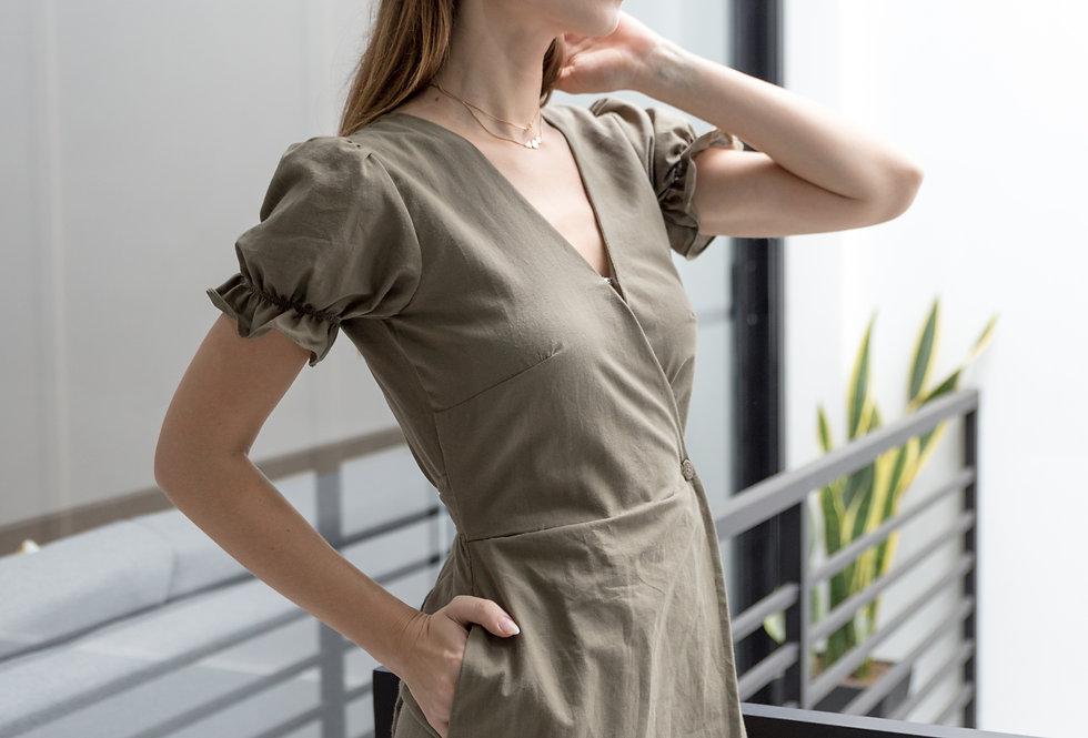 Robin Dress- Olive