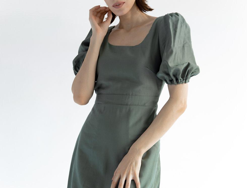 Sage Dress- Ash