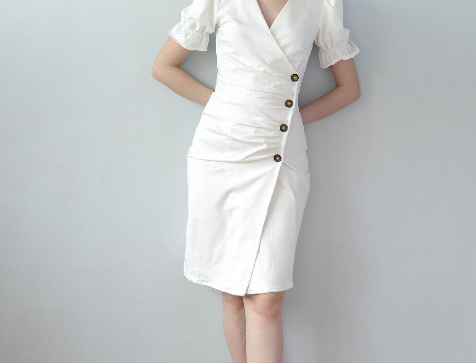 Scarlet Dress- White