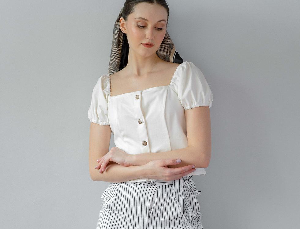 Piper Top- White