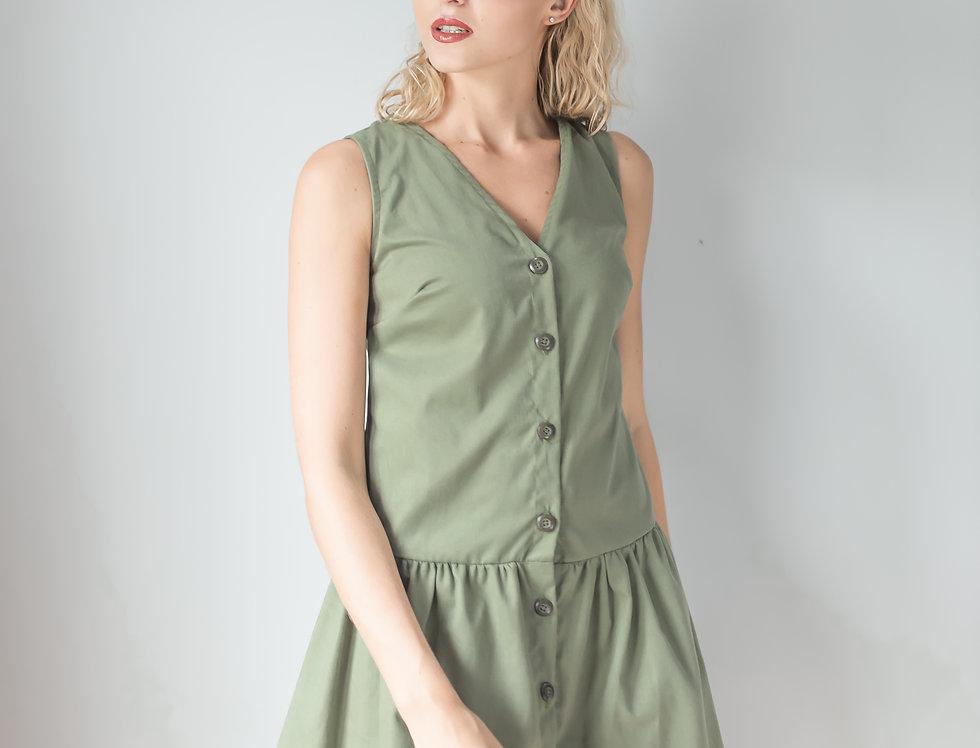Holly Dress- Olive