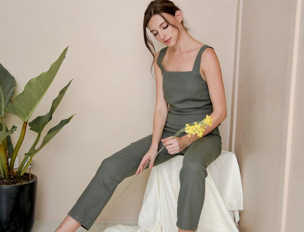 Inka Jumpsuit- Olive