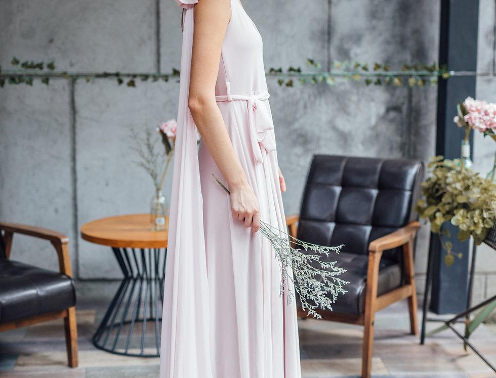 Ivanna Dress- Blush Pink