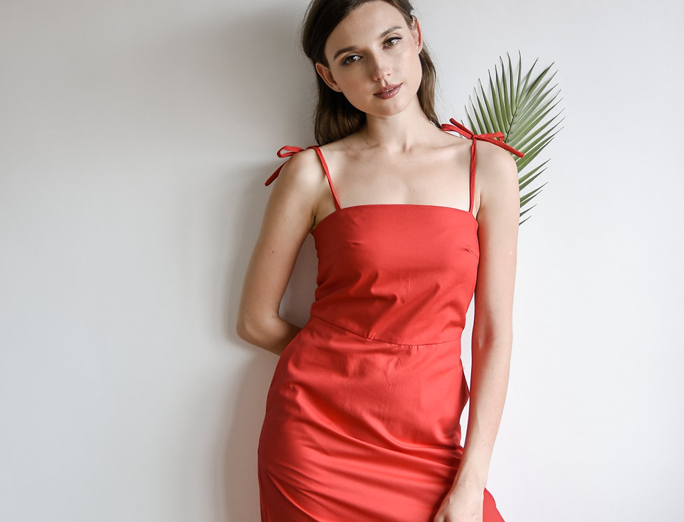Crystal Dress- Red