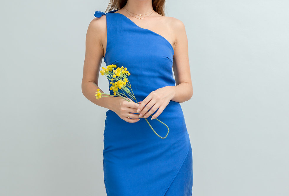 Sandy Dress- Blue